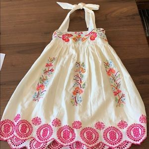 Pretty embroidered dress